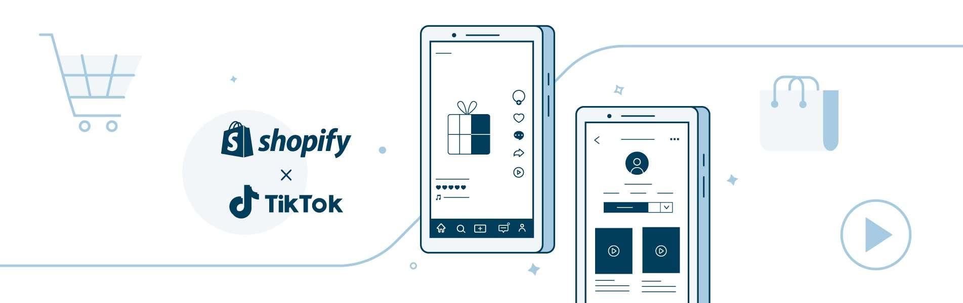 Shopify TikTok Shopping app